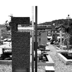 Grabmal Grabkreuz aus Metall